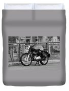Royal Enfield Goes Berlin Duvet Cover