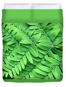 Royal Fern  Frond Detail Duvet Cover