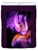 Royal Iris Duvet Cover