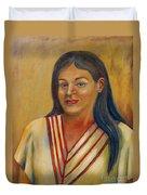 Royal Maiden Xochitl Duvet Cover