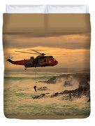 Royal Navy Rescue  Duvet Cover