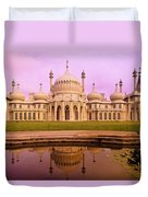 Royal Pavilion In Brighton England Duvet Cover