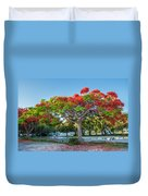 Royal Poinciana Duvet Cover
