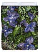 Royal Purple Duvet Cover