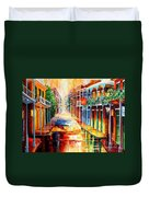 Royal Street Reflections Duvet Cover