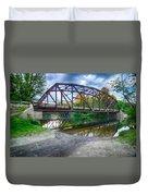 Rt 106 Bridge Duvet Cover
