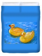 Rubber Ducks In A Tub Duvet Cover