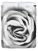 Rubellite Rose Bw Palm Springs Duvet Cover