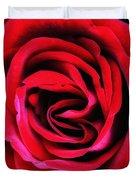 Rubellite Rose Palm Springs Duvet Cover