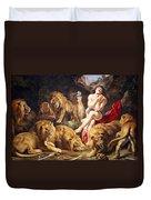 Rubens' Daniel In The Lions' Den Duvet Cover