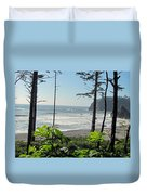 Ruby Beach I Duvet Cover