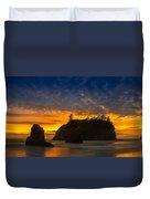 Ruby Beach Olympic National Park Duvet Cover