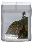 Ruby Beach Surf II Duvet Cover