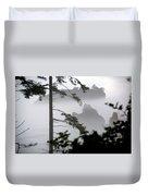 Ruby Beach Washington State Duvet Cover