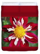 Ruby Glow Duvet Cover