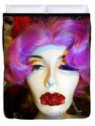Ruby Red Lips Duvet Cover