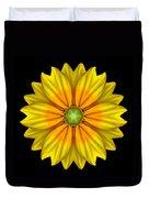 Rudbeckia Prairie Sun I Flower Mandala Duvet Cover