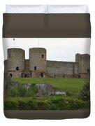 Ruddlan Castle 2 Duvet Cover