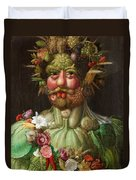Rudolf II Of Habsburg As Vertumnus Duvet Cover