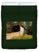 Rudolph Arthur Covered Bridge Duvet Cover