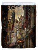 Rue Des Bouchers Duvet Cover