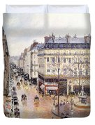 Rue Saint Honore Afternoon Rain Effect Duvet Cover