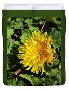 Ruffled Dandelion Duvet Cover