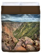 Rugged Edge Of The Canyon Duvet Cover