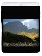 Rugged Majesty Duvet Cover