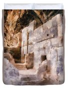 Ruins Duvet Cover by Michelle Calkins