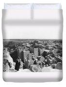 Ruins Of Babylon Duvet Cover
