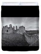 Ruins Of European Medieval Duvet Cover