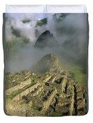 Ruins Of Machu Picchu Peru Duvet Cover