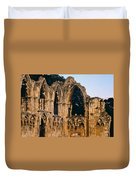 Ruins Of St. Mary's Abbey Duvet Cover