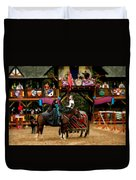 Rules Of Engagement Duvet Cover