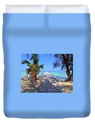 Rum Point Duvet Cover by Carey Chen