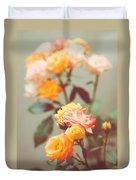 Rumba Rose Duvet Cover