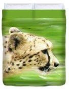Run Cheetah Run Duvet Cover