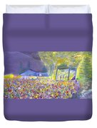 Head For The Hills At The Mish 2011 Duvet Cover