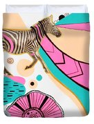 Running High Duvet Cover by Susan Claire