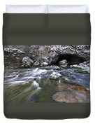 Running Water Cave Duvet Cover