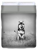 Running Wolf Duvet Cover