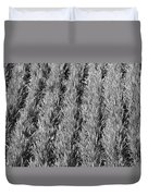 Rural America Black And White Duvet Cover