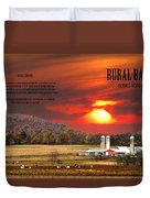 Rural Barns By Randall Branham Duvet Cover