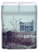 Rural Mansion Duvet Cover