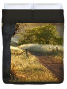 Rural Road 2am-009691 Duvet Cover