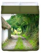 Rural Road Duvet Cover