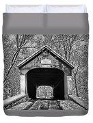 Rural Winter Duvet Cover