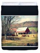 Ruralscape Duvet Cover