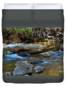 Rushing Mountain Stream Duvet Cover